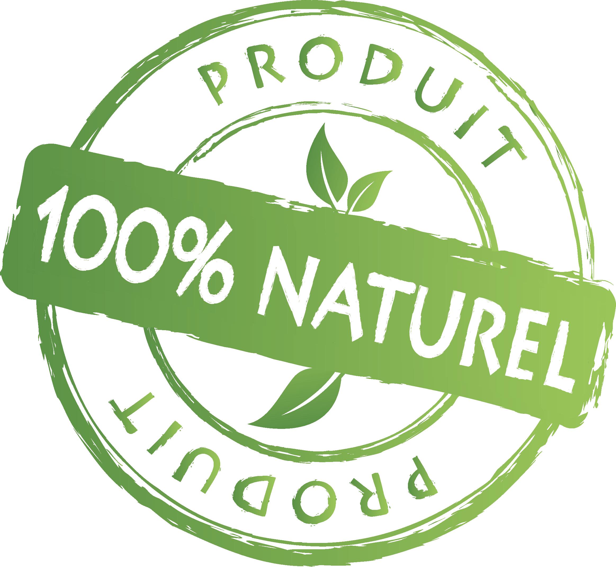 Produit 100% naturel