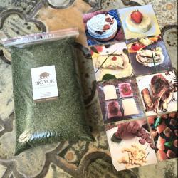 Nouveauté culinaire herbe de bison format professionnel artisans et industriels Big Vok OGONA