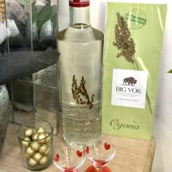 Aromatiser soi-même sa vodka avec les fleurs d'herbe de bison Big Vok