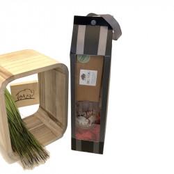 Coffret thé assam herbe de bison avec tasse OGONA