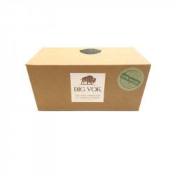 Boîte de thé vert à l'herbe de bison 40g avec filtre Big Vok