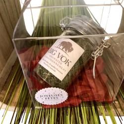 Boîte cadeau herbe de bison comestible 10g
