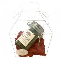 L'élégant écrin transparent pour le pot d'aromates Big Vok