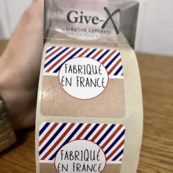 Etiquette cadeau FABRIQUE EN FRANCE