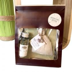 Pochette cadeau aromates et pochon BIG VOK